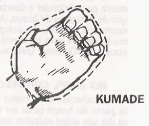 Karate: golpes circulares, uchi waza Kumade
